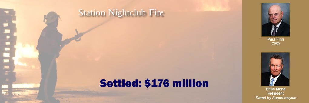 Station Nightclub Fire Settled: $176 million