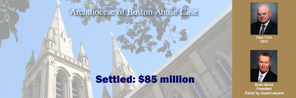 Archdiocese of Boston Abuse Case Settled: $85 million